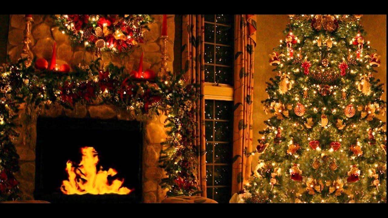 chimenea en navidad youtube