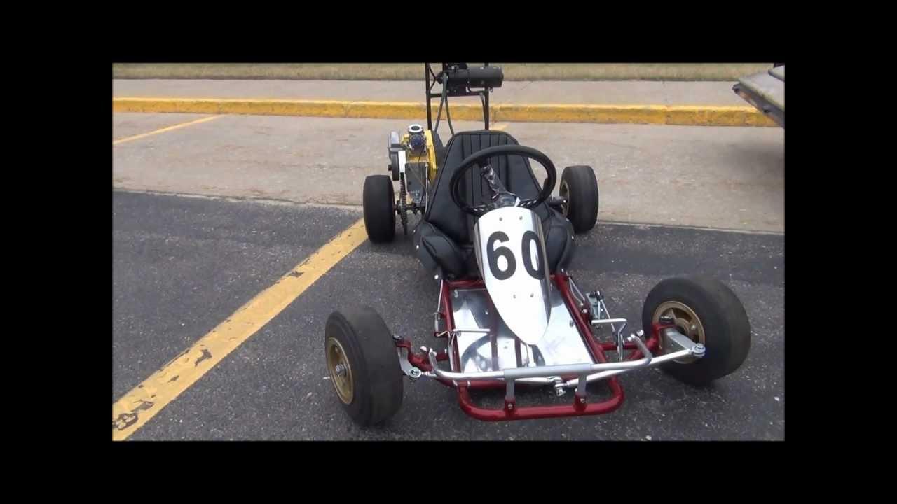 Vintage Go Kart 69 Bug Sprint 80cc Mcculloch