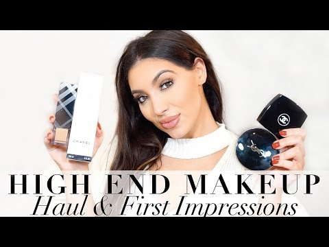 High End Makeup Haul, Try On & First Impressions + DISCOUNT CODE!