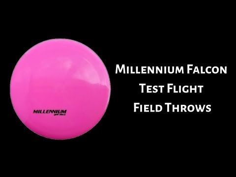 Millennium Falcon Test Flight - Disc Golf