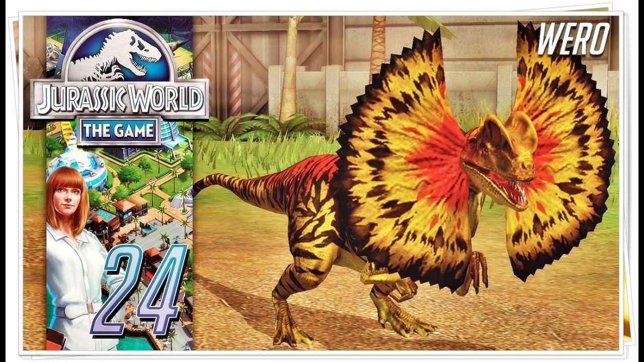 jurassic world  the game dilophosaurus  ep 24  youtube