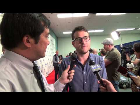 WonderCon 2014: Red Carpet  with Max Borenstein for Godzilla