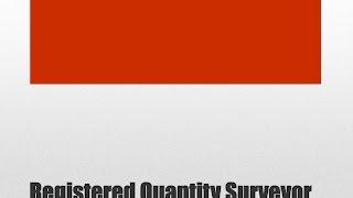 Registered Quantity Surveyor – Las Vegas, Nevada