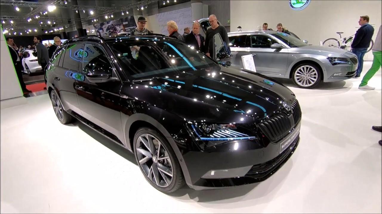 Skoda Superb Sportline 4x4 Combi New Model Black Magic Walkaround