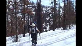 Ski to Canada -or- Traversing the Bob Marshall and Glacier