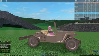 [as a block (Roblox)] I'm a helicopter ride aboard a tank war!!! Pigs get to battle for a PFC promotion!! Simple review & play video