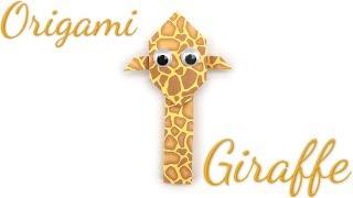 Easy Origami Giraffe Tutorial