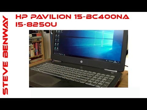 Hewlett Packard HP Pavilion 15-bc400na i5-8250U budget gaming laptop