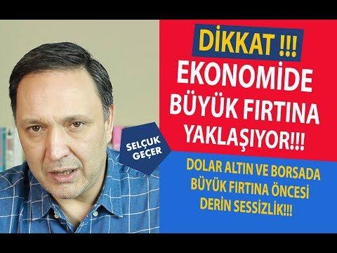 DİKKAT EKONOMİDE BÜYÜK FIRTINA YAKLAŞIYOR !!!