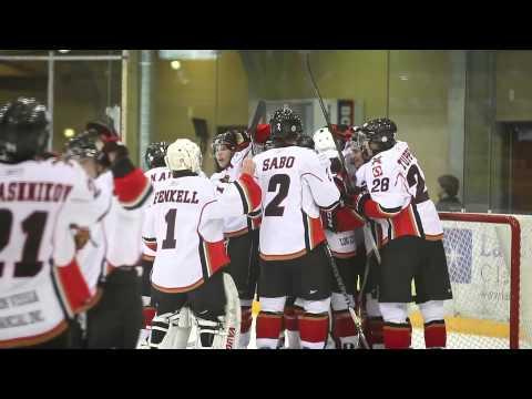 Alberni Valley Bulldogs Wind Up Video 2011-2012 BCHL CJHL Hockey Canada