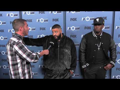 DJ Khaled and Diddy Get Real with Host on The Four Red Carpet | The Zoo