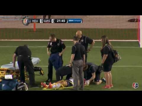 Ali Krieger Full Injury - Stretcher