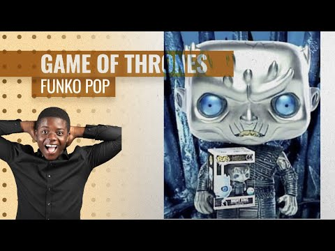 Hot New Funko Pop Games Of Thrones 2019, Starring: Authentic Metallic Night King Pop
