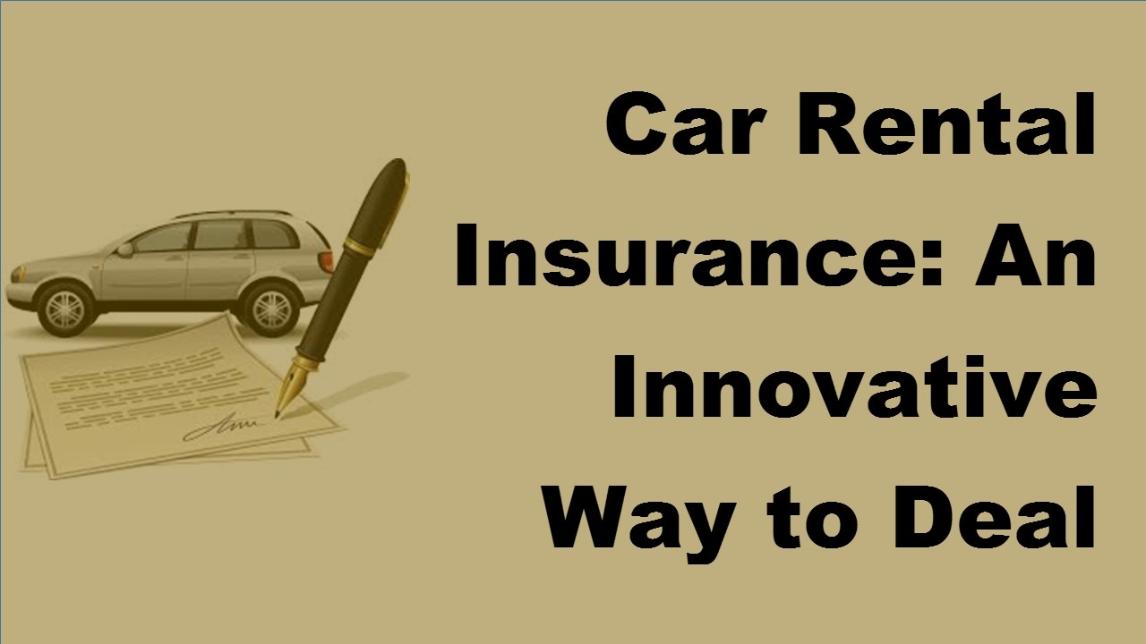 Rental Car Insurance California
