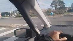 Parcours de permis de conduire à saint priest الدورة الشرفية في مدينة ليون