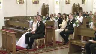 Ślub Justyny i Rafała w Siedlcach.