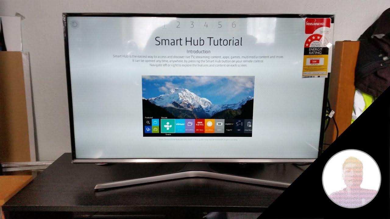 unboxing da smart tv Samsung 32' - YouTube