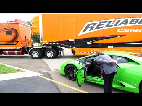 TAKING DELIVERY OF MY LAMBORGHINI !!!