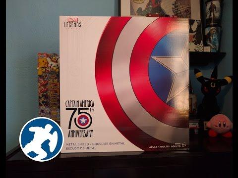 Marvel Legends: Captain America Shield Unboxing