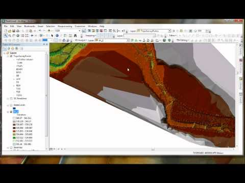 Task 1 - Ground Based Topography - Advanced GIS Courses