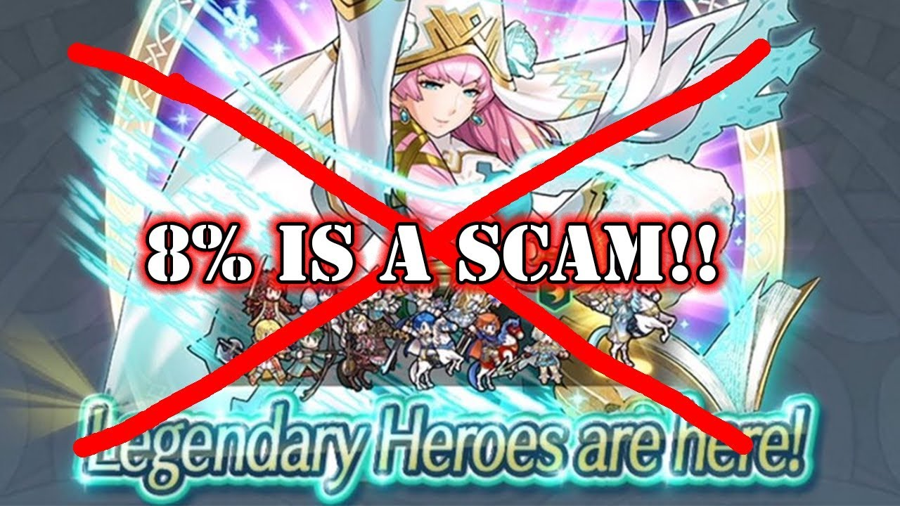 The Legendary 8 Banner Is A Scam Fire Emblem Heroes Youtube