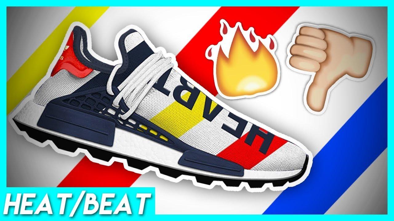 sale retailer 1f710 6f70f Heat or Beat? Billionaire Boys Club X Pharrell Williams Human Race  RELEASE!INSANE HYPE SNEAKER! Ep.5