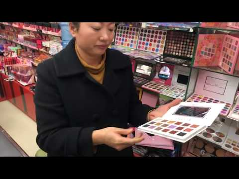Косметика - оптовый рынок в Иу, Китай. Товары для красоты, макияж, парфюмерия оптом из Китая