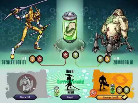 Mutants genetic gladiators combinaçoes