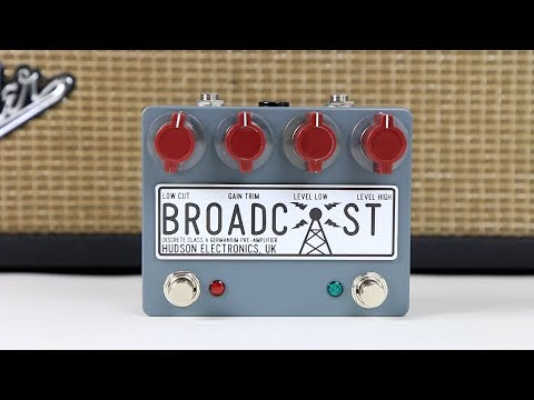 Hudson Electronics Broadcast Dual Footswitch