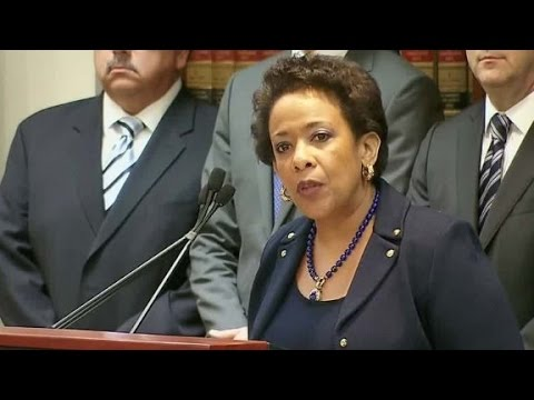 A.G. Lynch: U.S. determined to root out FIFA corruption