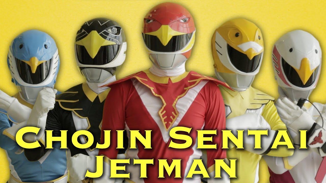 Chojin Sentai Jetman [Super Sentai Henshin Morph]