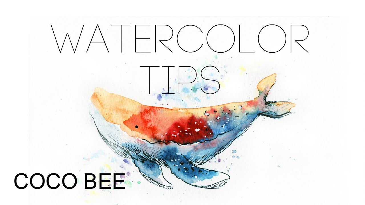 5min beginner 39 s watercolor tips for How to use watercolors for beginners
