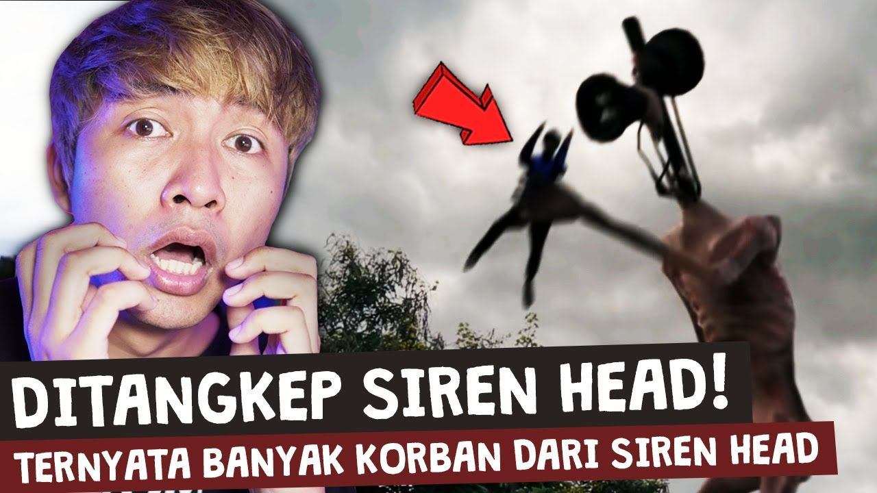 DIKEJAR & DISERANG SIREN HEAD! SEREM BGT! 😱 | Film Pendek Horor