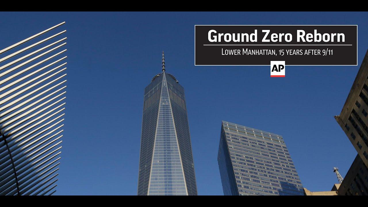 ground zero reborn lower manhattan 15 years after 9 11. Black Bedroom Furniture Sets. Home Design Ideas