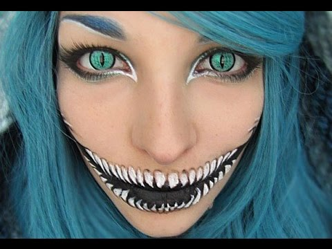 25 Creepiest Halloween Makeup Ideas - YouTube