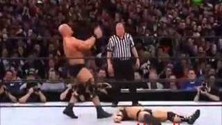 WWE Stone Cold Steve Austin Vs The Rock - HD Highlights Wrestlemania 19