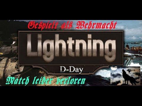 Lightning D Day Axis vs  Allies Schlacht leider verloren
