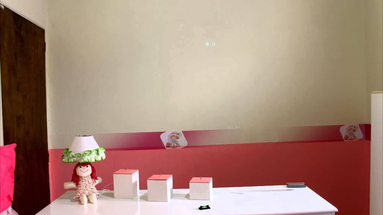 Papel de parede quarto Infantil (faixa)  YouTube