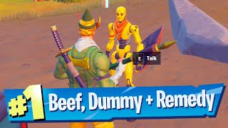 Talk with Beef Boss, Remedy and Dummy Location - Fortnite (Jungle Hunter Quests)