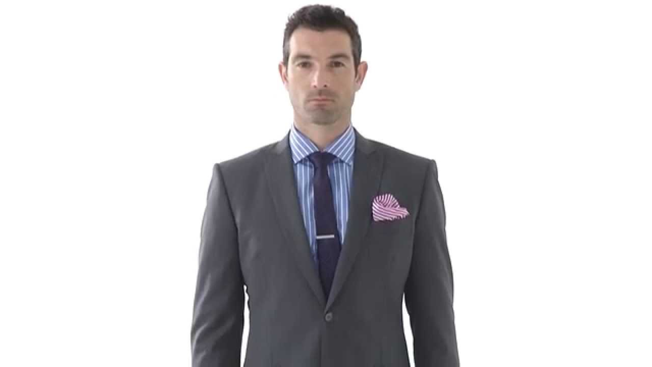 Tailor made Mid-Grey Wool Suit - YouTube