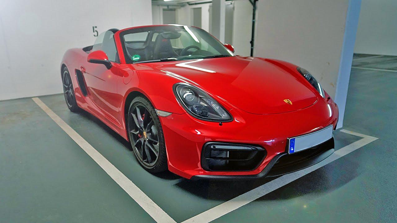 2015 Porsche Boxster Gts Extreme Exhaust Sound Youtube