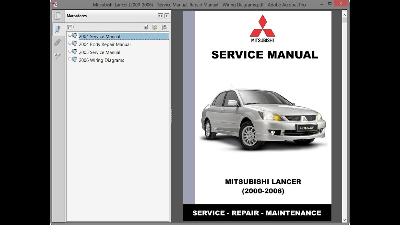 Mitsubishi Lancer  2000-2006  - Service Manual    Repair Manual - Wiring Diagrams