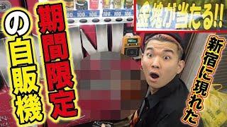 【新宿の闇】金塊が当たる自販機で当たるまで買い続けたらいくらかかる?【娘のアタシが女王