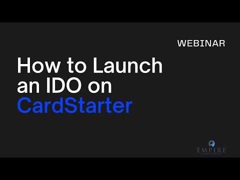 [Webinar] How to launch an IDO on CardStarter