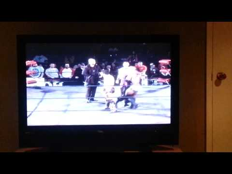 outlaw Inc  hugs opponents in ROH