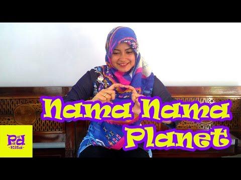 Nama Nama Planet Tema Alam Semesta Youtube