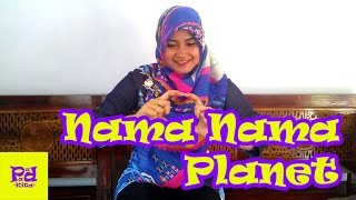 Nama  Nama Planet - Tema Alam Semesta