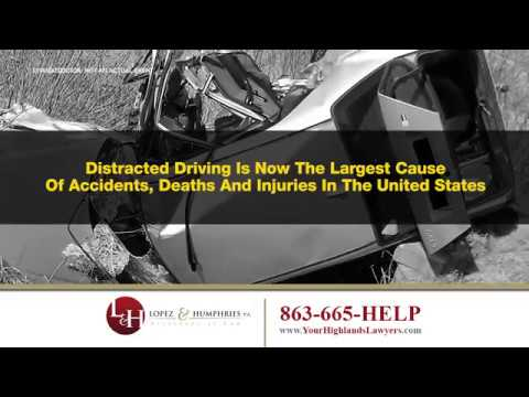 Sebring FL Distracted Driving Auto Accident Lawyer | http://www.YourHighlandsLawyers.com