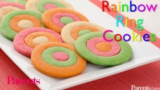 Recipe: Rainbow Ring Cookies | Parents