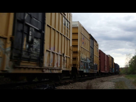 EB freight...track 2 onto track 1 with switch reset